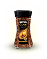 "Кофе Nescafe ""Голд"" 190 гр. (стекло)"