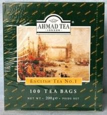 "Чай ""Ахмад"" Англ. № 1 (в уп. 100 пак.)"