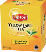 "Чай Lipton ""Yellow Label"" (в уп. 100 пак.)"